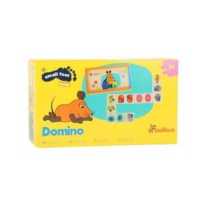 Detské drevené domino Legler Die Maus