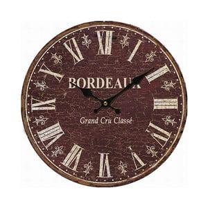 Nástenné hodiny Antic Line Bordeaux, 34cm