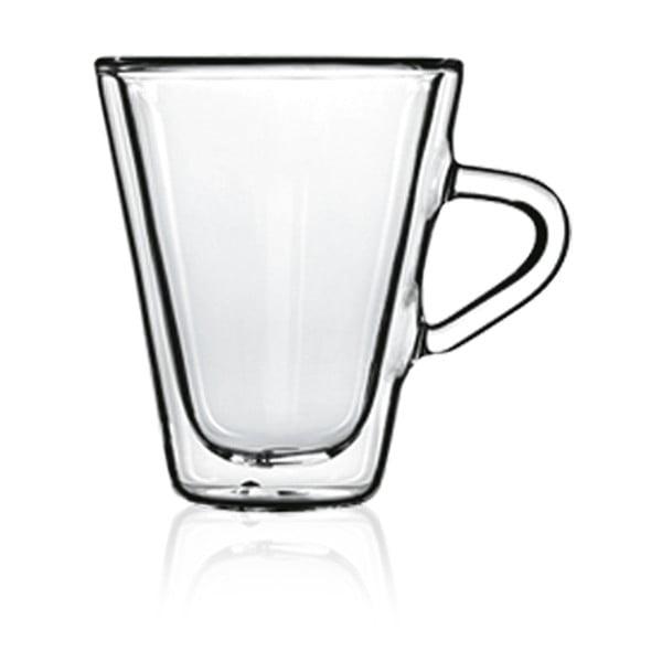 Sada 2 dvojstenných pohárov na espresso Bredemeijer, 105 ml