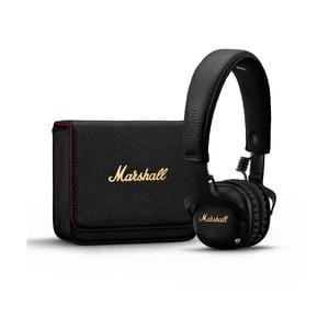 Čierne bezdrôtové slúchadlá Marshall Mid A.N.C.