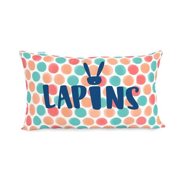 Obojstranná obliečka na vankúš Lapins, 50x30 cm