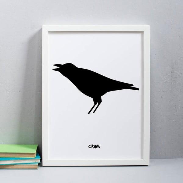 Plagát Karin Åkesson Design Crow, 30x40 cm