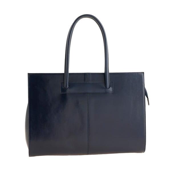 Kožená kabelka Ore Diece Olbia, modrá