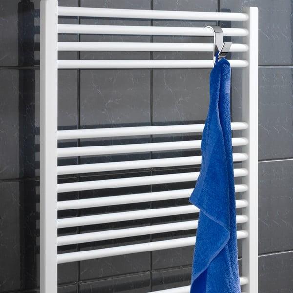 Sada 2  chrómovaných háčikov na uteráky Wenko Radiator