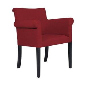 Červená stolička Kooko Home Harp
