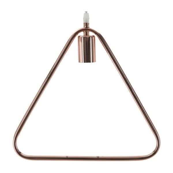 Stropné svietidlo Mauro Ferretti Triangle Col Nero