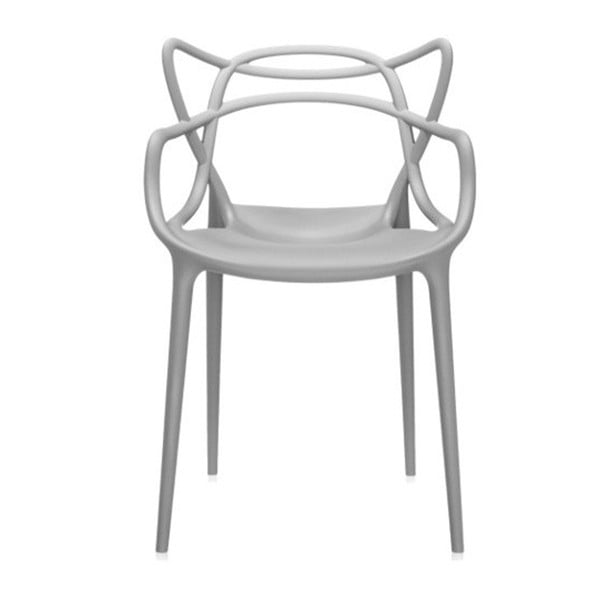 Sivá stolička Kartell Masters