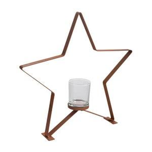 Svietnik J-Line Star Metal L