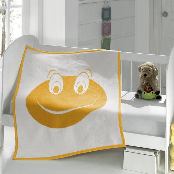 Detská deka Baby Frog, 90x120 cm