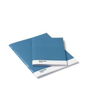 Sada 2 modrých zápisnikov Pantone