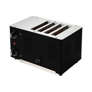 Dizajnový toaster Rowlett Rutlands Four, Jet Black