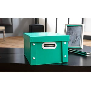 Farebný úložný box Emerald