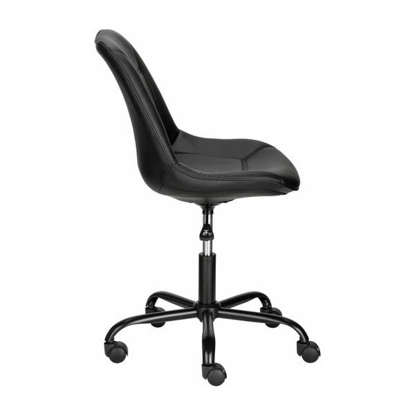 Čierna kancelárska stolička Støraa Carl