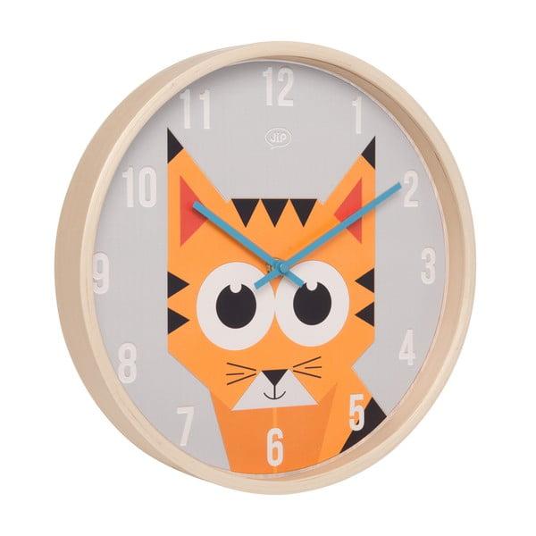 Nástenné hodiny Present Time Geo Tiger, 30 cm