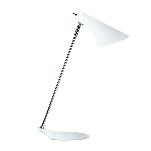Biela stolová lampa Nordlux Vanila