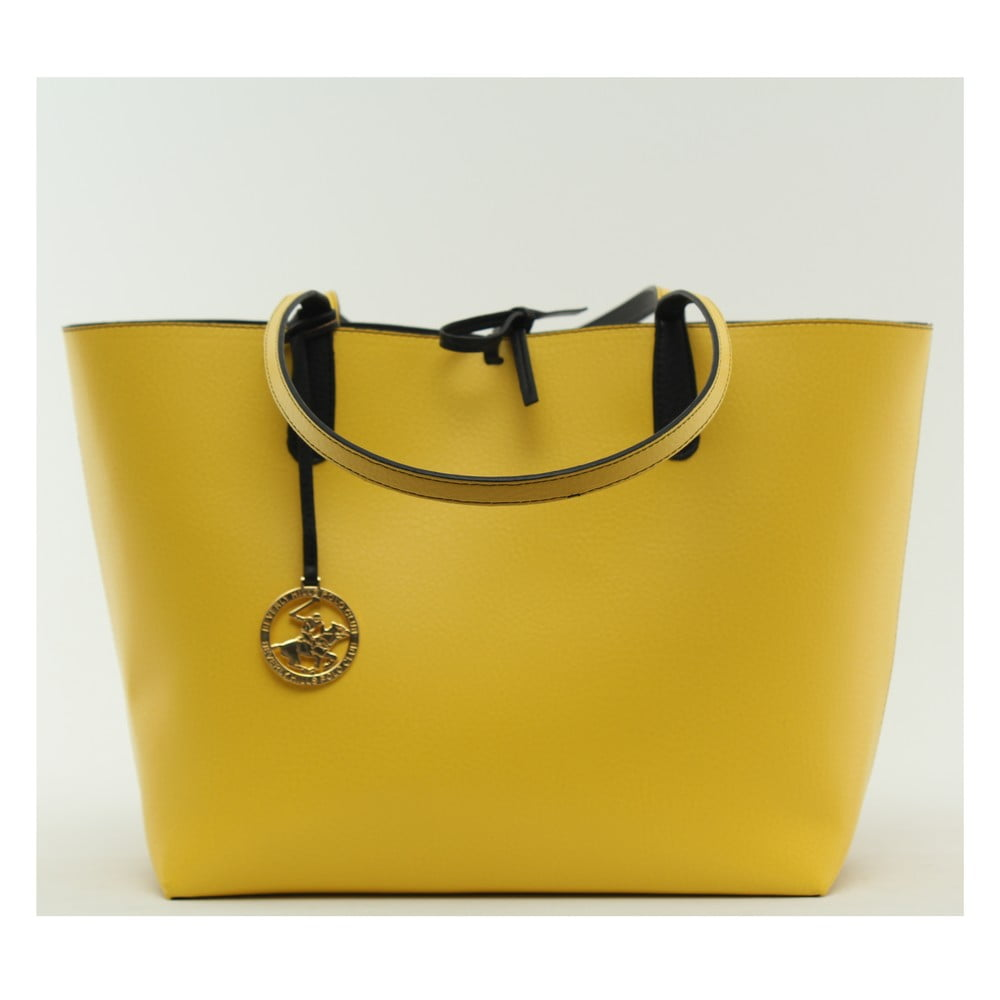 4f58625159 Kabelka Beverly Hills Polo Club 09 - Yellow Black ...