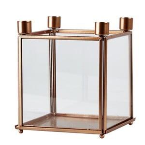 Svietnik na 4 sviečky Copper