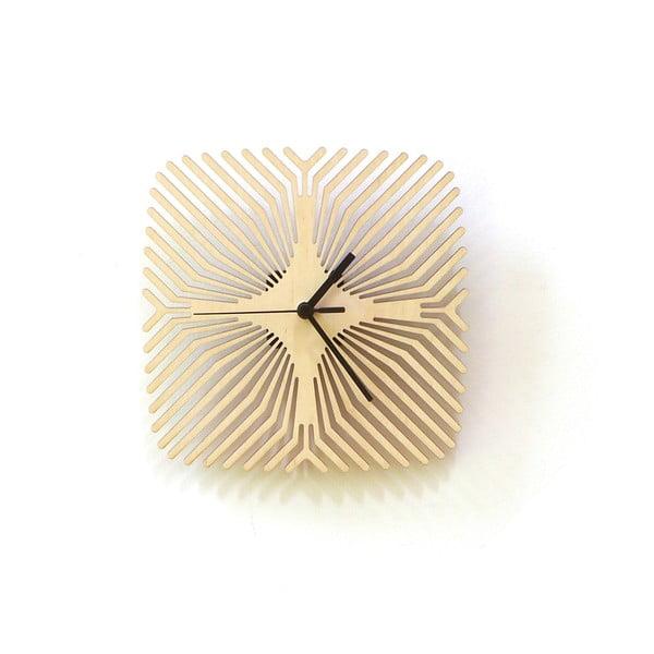 Drevené hodiny Spider, 24 cm
