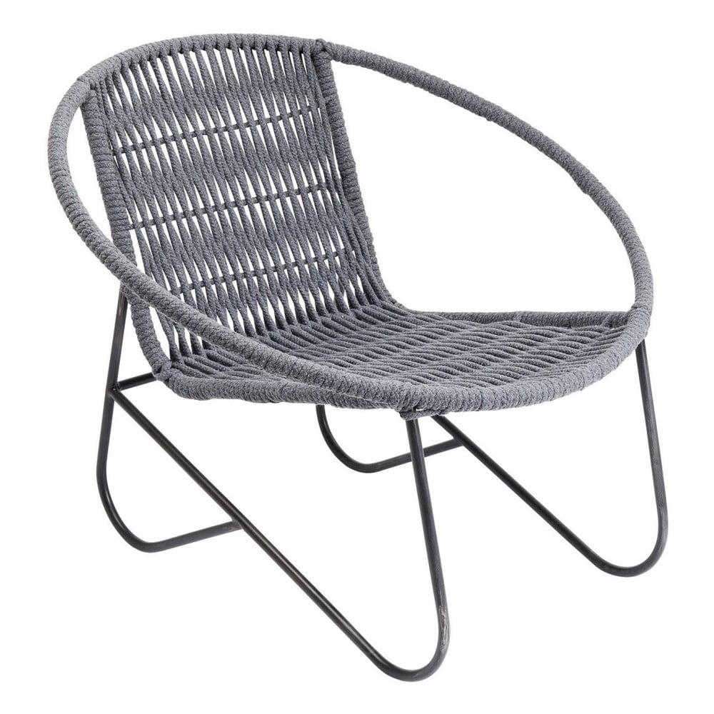 Stolička s kovovou konštrukciou Kare Design Wilderness