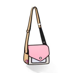 Komiksová taška Giggle Pink