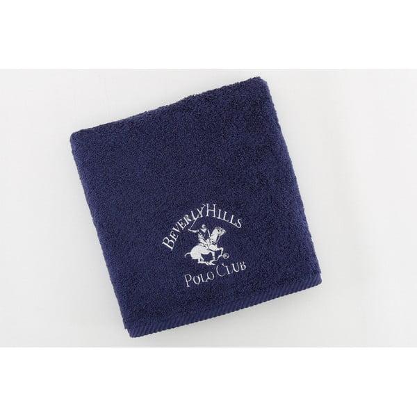Bavlnený uterák BHPC 50x100 cm, tmavomodrý
