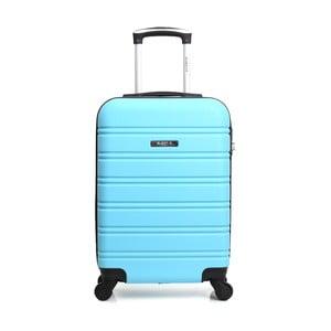 Modrý cestovný kufor na kolieskach Blue Star Bilbao, 35 l