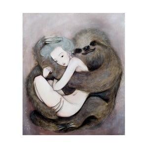 Autorský plagát od Lény Brauner Leňochod, 50,3 x 60 cm