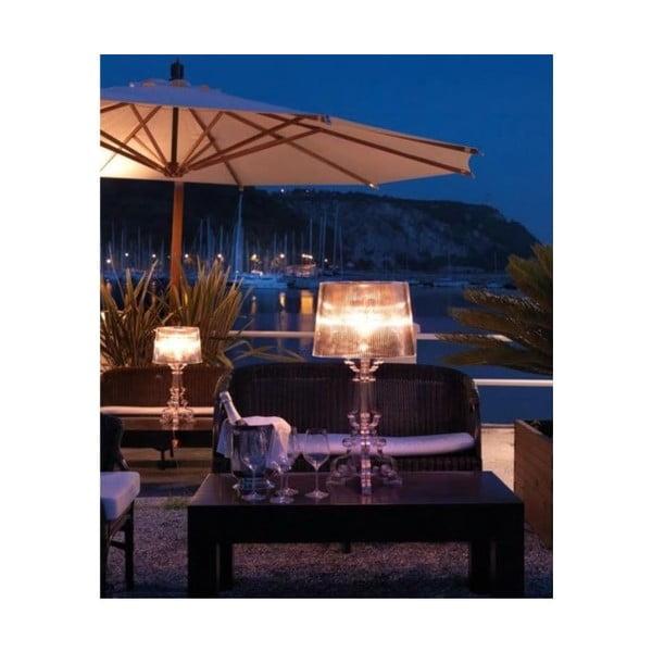 Transparentná stolová lampa Kartell Bourgie