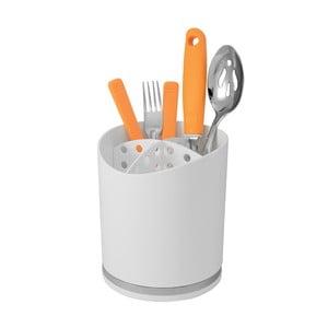 Biely stojan na príbor Future Cutlery