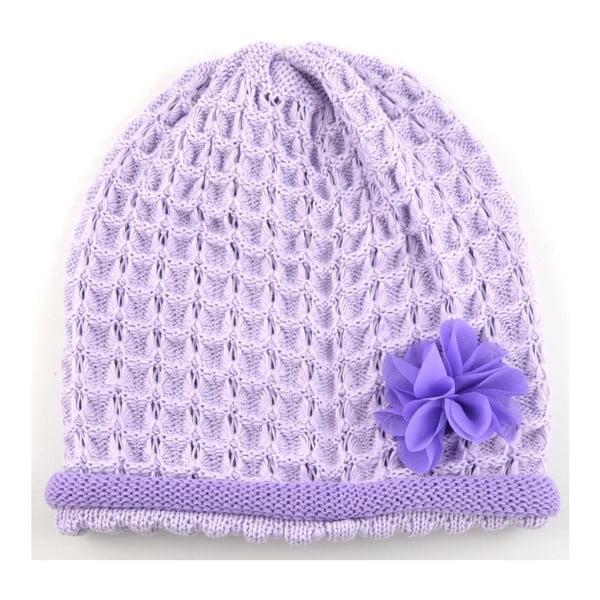 Dievčenská čapica Rulon, fialová