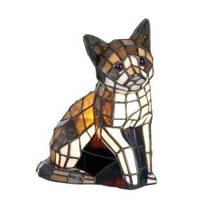 Tiffany stolná lampa Cat