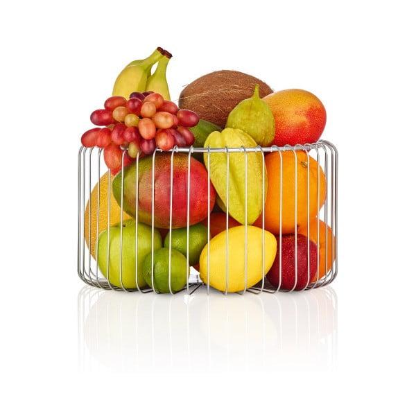 Miska z nehrdzavejúcej ocele na ovocie Blomus Basket