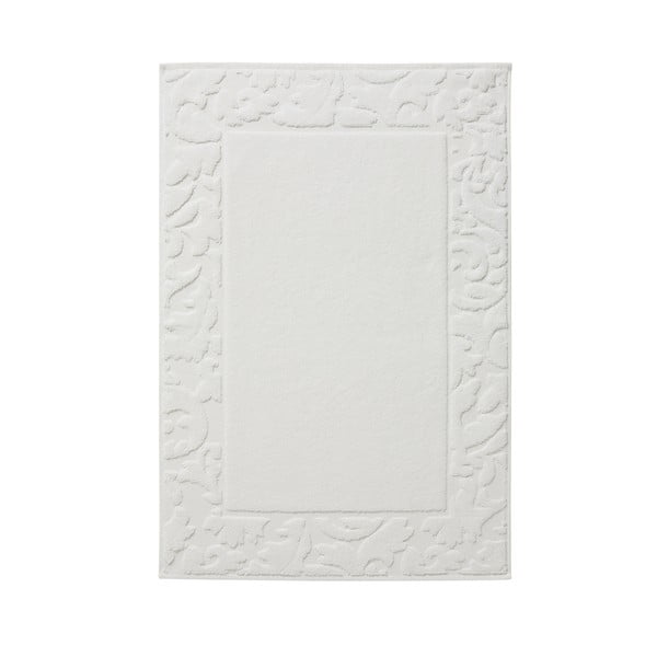 Kúpeľňová predložka Grace White, 50x75cm