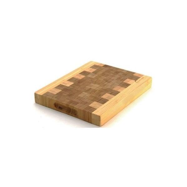 Bambusová doska na krájanie Eartchef, 28x23x3,2 cm