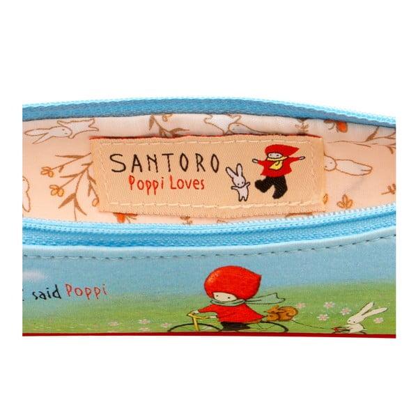 Menší peračník na písacie potreby Santoro London Poppi Loves Discipline
