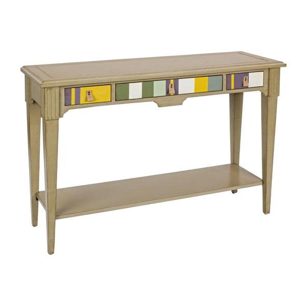 Konzolový stolík Moritz Tortora, 120x38x82 cm