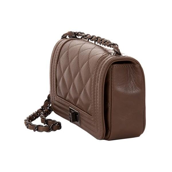 Kožená kabelka Andrea Cardone 2030 Taupe
