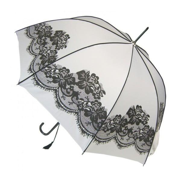 Dáždnik Vintage, white
