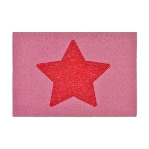 Rohožka Design Star Pink, 50x70 cm