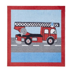 Koberec Kiddy - hasiči, 100x100 cm