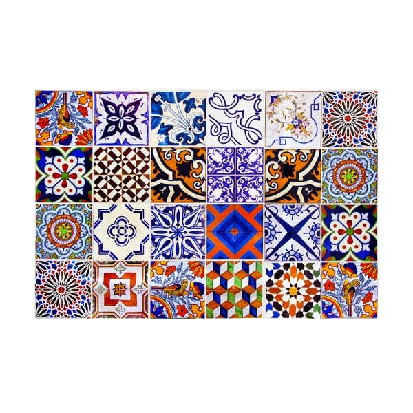 Koberec z vinylu Mosaico, 133x200 cm