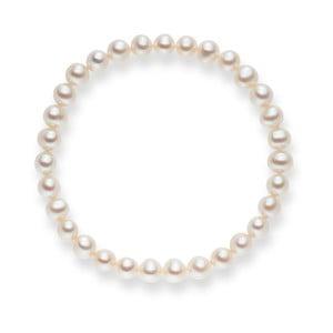 Perlový náramok Nova Pearls Copenhagen Cecile White