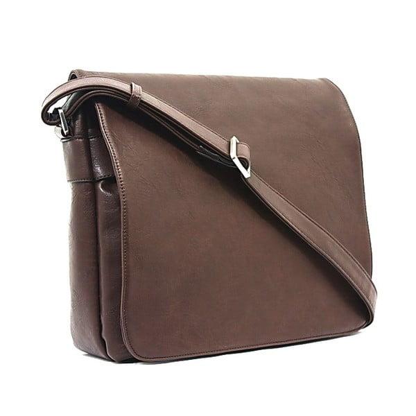 Taška na notebook Bobby Black - Coffee, 36x29 cm