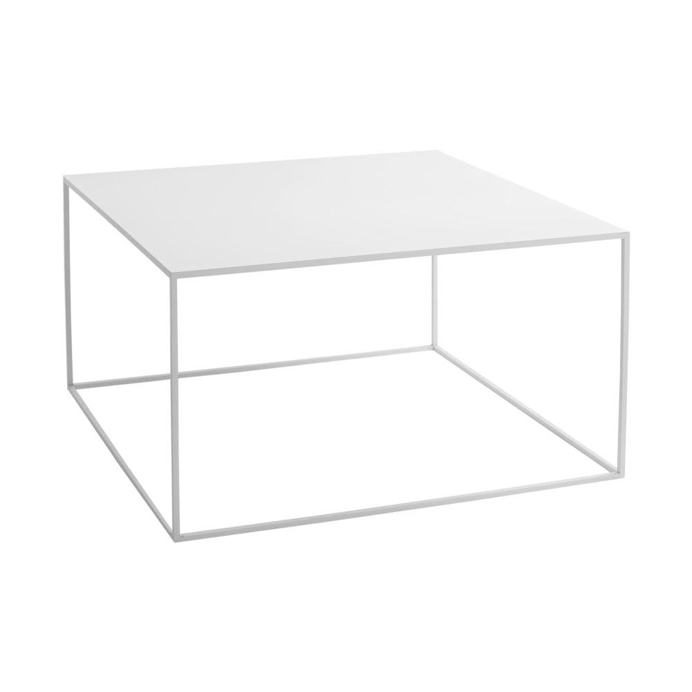 Biely konferenčný stolík Custom Form Tensio, dĺžka 80 cm