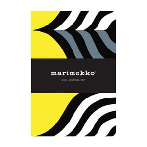 Set mini zápisníkov Chronicle Books Marimekko Mini Journal Set