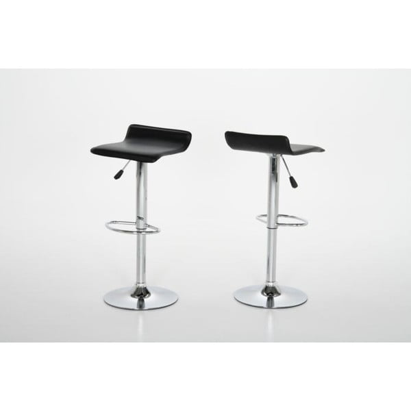 Barová stolička Dan, čierna