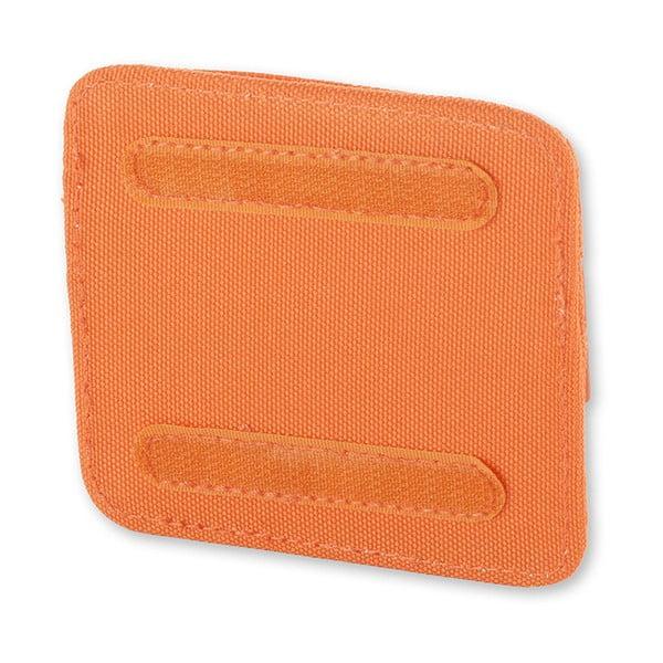 Univerzálna kapsička so suchým zipsom Moleskine 10x9 cm, oranžová