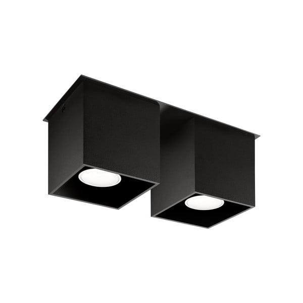 Čierne stropné svetlo Nice Lamps Geo 2