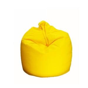 Žltý sedací vak Evergreen Houso Trendy