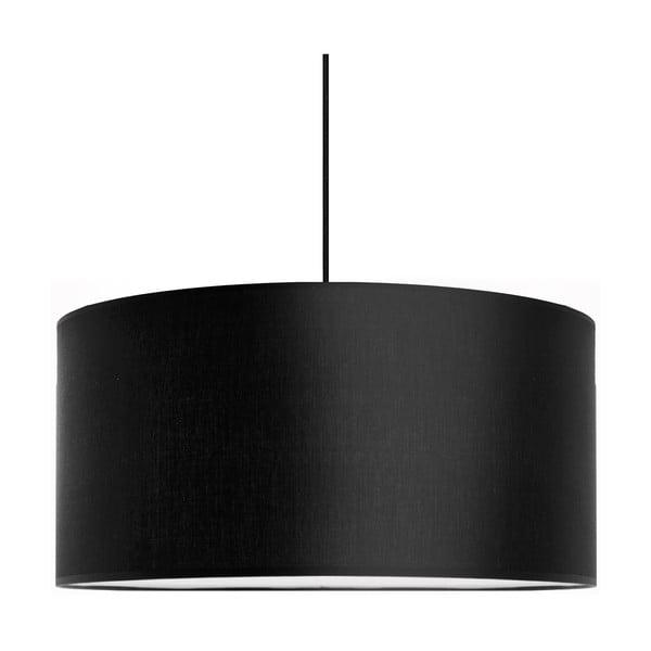 Závesné svietidlo Tres, čierna, priemer 50cm